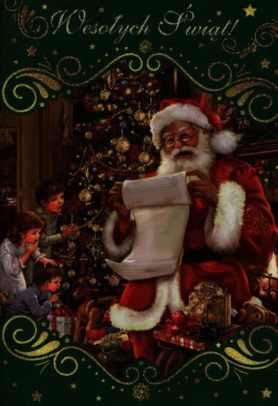 Karnet Boże Narodzenie B6-BNB mix