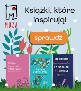Książki, które inspirują  - wydawnictwo Muza