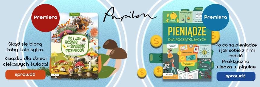 Premiery wydawnictwa Papilon