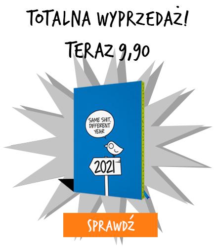 Wyprzedaż  - kalendarz Ptaszek Staszek