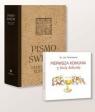 Pismo Święte A4 beż + Kokardka gratis