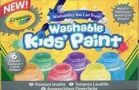 Crayola Farby zmywalne metaliczne do skóry i ubrań