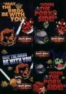 Zeszyt A5 Angry Birds Star Wars w kratkę 60 kartek 10 sztuk mix