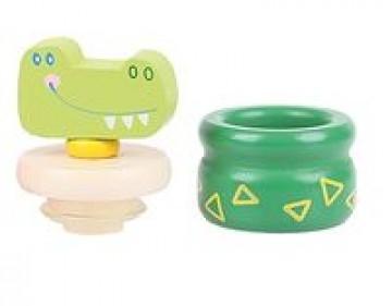 Pojemnik na ząbki - krokodyl