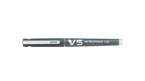 Pióro kulkowe Pilot Hi-Tecpoint V5 Cartridge System szare Fine + naboje