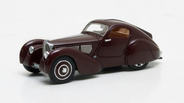 Bugatti Type 51 Dubos Coupe #51133 1931 (maroon) (MX40205-041)