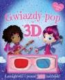 Gwiazdy pop w 3D Książka z okularami