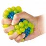 Gniotek w siatce winogrono niebieskie