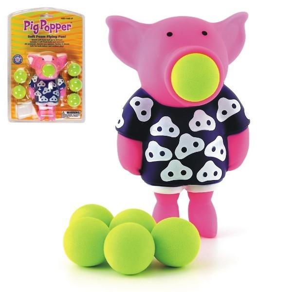 POWER POPPERS Małe strzelacze Świnka