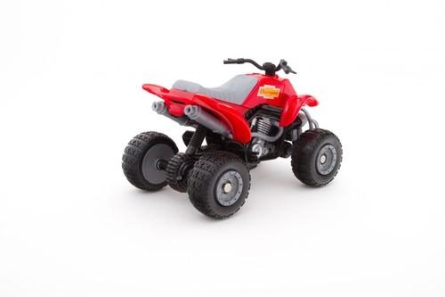 Teama quad czerwony