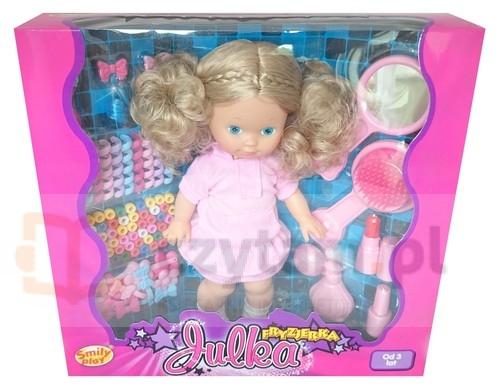 Julka Fryzjerka różowa sukienka