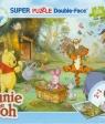 Puzzle dwustronne + mazaki 108 Kubuś Puchatek
