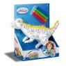 Dinozaur średni Koloruj na okrągło