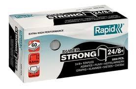 Zszywki Rapid super strong 24/8+5m  (24860100)