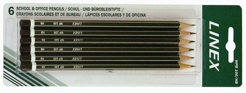 Zestaw ołówków do szkicowania HB 6 sztuk