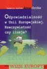 Odpowiedzialność w Unii Europejskiej Rzeczywistość czy iluzja?