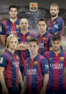 Puzzle 1000 Klub Piłkarski Barcelona kolaż (16300)