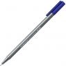 Cienkopis triplus fineliner S 334 niebieski