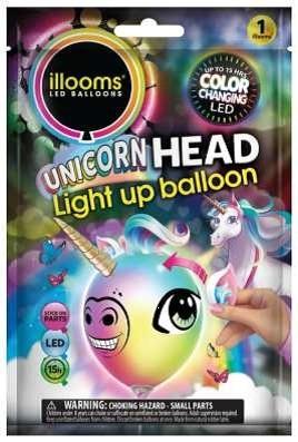 Balony LED Zrób To Sam Jednorożec (ILL80054)