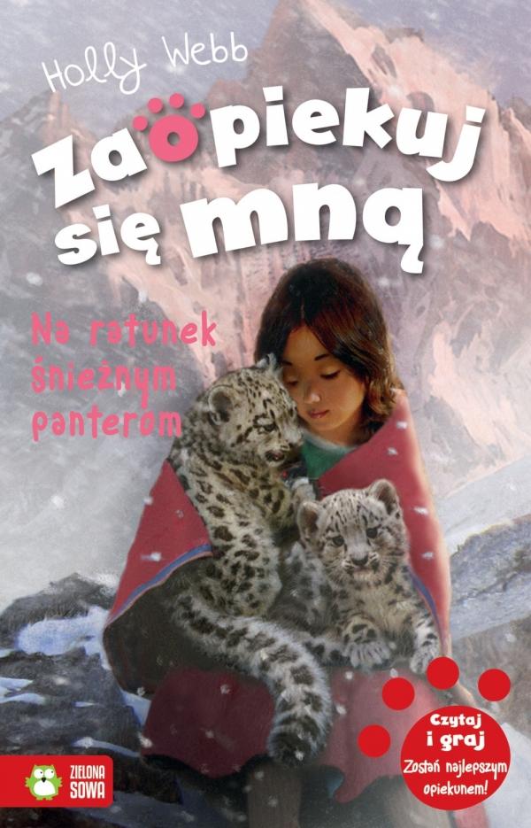 Na ratunek śnieżnym panterom Holly Webb