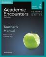 Academic Encounters 4 Teacher's Manual Reading Writing Bernard Seal
