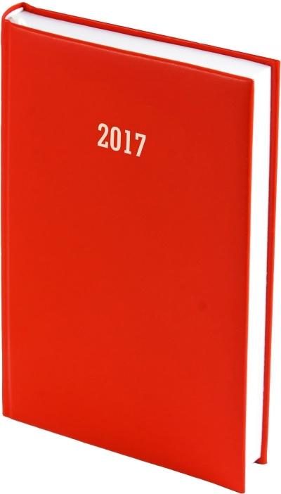 Kalendarz A5 tygodniowy Albit czerwony 2018 .