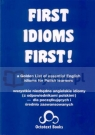 First Idioms First!