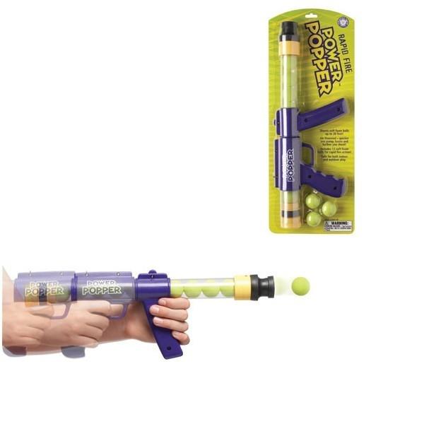 POWER POPPERS Pistolet R apid Fire fioletpojedync