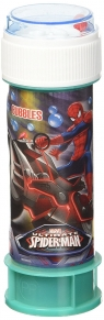 Bańki mydlane 60 ml. Spiderman (5513005)
