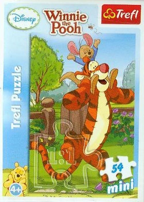 Puzzle mini 54 Kubuś Puchatek i przyjaciele (19400)