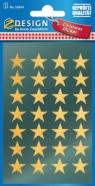 Naklejki- złote gwiazdy