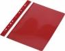 Skoroszyt z euro x10 pvc czerwony 0313-0002-05