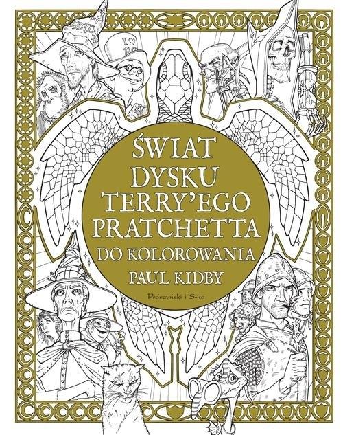 Świat Dysku Terry ego Pratchetta do kolorowania Kidby Paul, Pratchett Terry