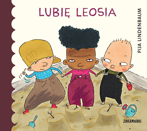 Lubię Leosia (Uszkodzona okładka) Lindenbaum Pija