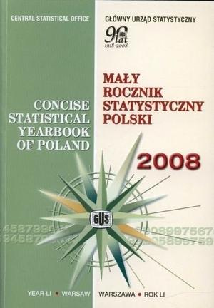 Mały rocznik statystyczny 2008 bpz praca zbiorowa