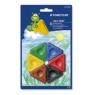 STAEDTLER Zestaw trójkątnych kredek świecowych 6 kolorów (S 2230 BK6)