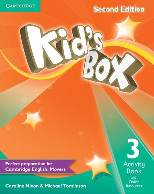 Kid's Box Second Edition 3 Activity Book with Online Resources Nixon Caroline, Tomlinson Michael