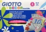 Giotto Flamastry Deco textile 4+2