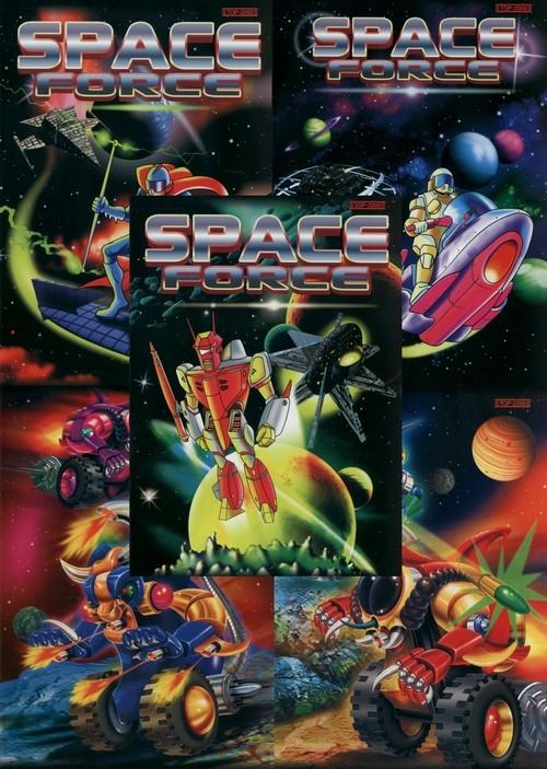 Zeszyt A5 Top-2000 w kratkę 16 kartek Space Force 20 sztuk mix
