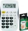 Kalkulator kieszonkowy biało-czarny TR-295-K (120-1769)