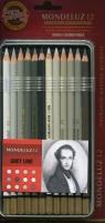 Kredki Mondeluz 12 kolorów Linia szarości (3722/GR)