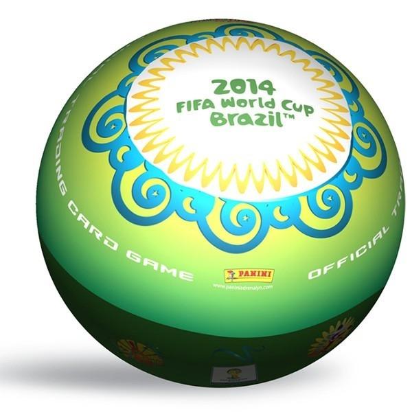 PANINI FIFA World Cup 20 14 Puszka Okrąg.10-pack