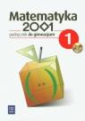Matematyka 2001 1 Podręcznik z płytą CD