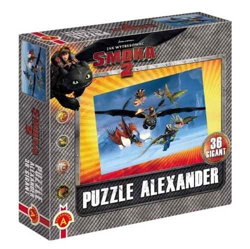 Puzzle Gigant Jak wytresować smoka 2 Zimno zimno 36  (1000)