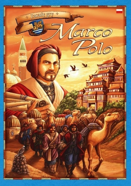 Marco Polo Planszowa gra strategiczna (R92)