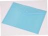 Focus koperta A5 przezroczysta kolorowa c4534 niebieski
