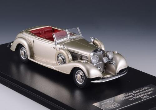 Mercedes-Benz offener Tourerwagen grey 1938 (GXP-564247)