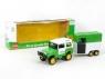 Auto z przyczepką 32cm Farm-set (BG006644)