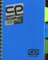 Brulion A5 CoolPack 200 kartek niebieski neon (52009PTR)