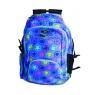Plecak szkolno-sportowy niebieski